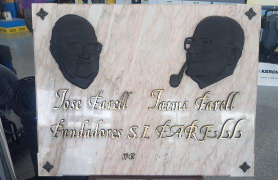 Placa fundadores